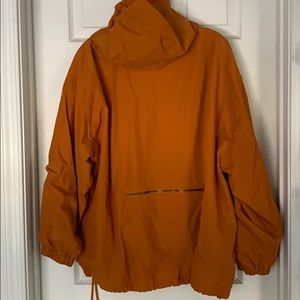 Actra Tops - Actra windbreaker, orange and navy blue, XL